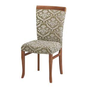 cadeira-roma-mesa-madeira-escura-tecido-vintage-encosto-cozinha-jantar