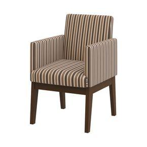 poltrona-ana-madeira-escra-marrom-tecido-listrado-bege-encosto-4-pernas-decoracao-sala-quarto