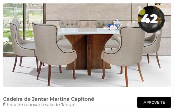 Cadeira de Jantar Martina com 42% de desconto