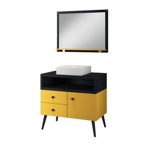 conjunto-cuba-espelheiro-banheiro-quadrada-apartamento-colorida-decoracao-armario-2-gavetas-1-porta-retro-pes-palitos-80-cm-amarelo-preto-apolo-1130632-01