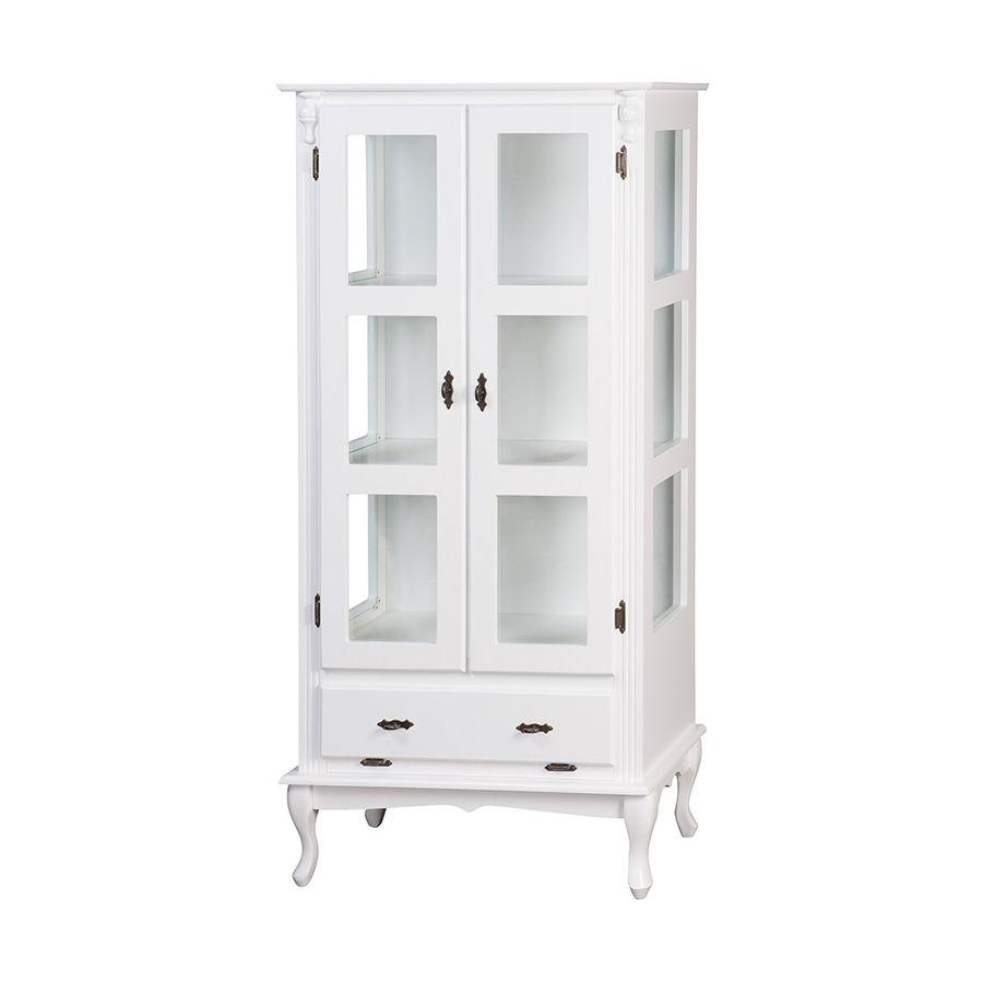 vitrine-madeira-branca-duas-portas-com-gaveta-basculante-907346