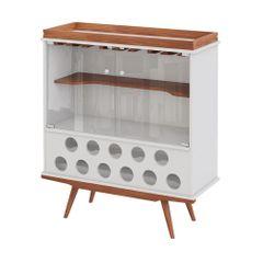 cristaleira-noruega-pes-palito-madeira-clara-11-porta-garrafas-vidro-vinho-bebida-decoracao-sala-cozinha-adega