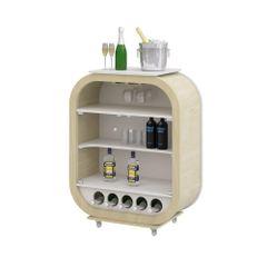 cristaleira-decor-mini-madeira-clara-bege-5-porta-garrafas-vidro-vinho-bebida-sala-cozinha-adega
