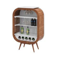 cristaleira-decor-mini-pes-palito-madeira-marrom-5-porta-garrafas-vidro-vinho-bebida-cozinha-sala-adega