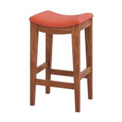 banqueta-alta-londres-estofada-assento-vermelho-laranja