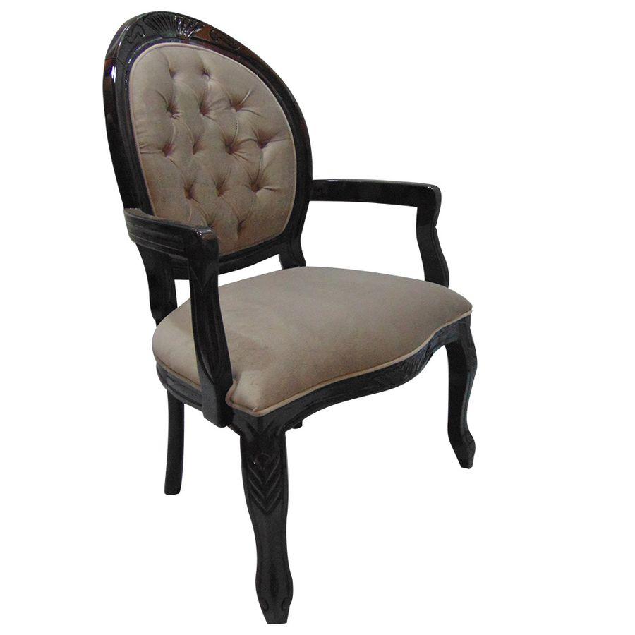 cadeira-estofada-madeira-bege-com-braco-captone-decoracao-mesa-jantar-medalhao-02