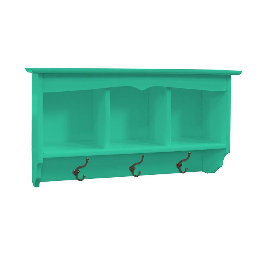 prateleira-3-espacos-porta-chaves-madeira-verde