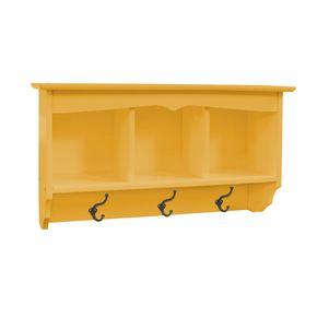 prateleira-3-espacos-porta-chaves-madeira-amarela