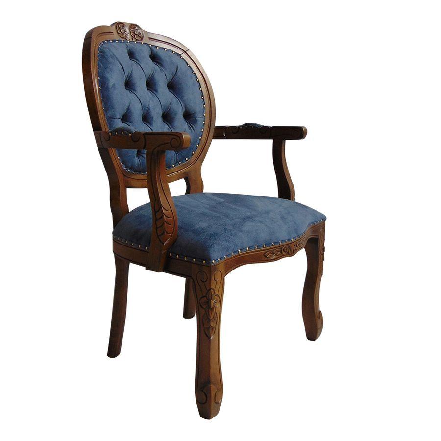 poltrona-estofada-madeira-azul-com-braco-captone-decoracao-mesa-jantar-medalhao-02