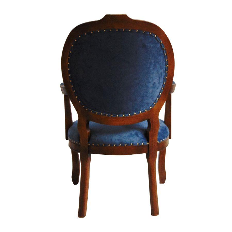 poltrona-estofada-madeira-azul-com-braco-captone-decoracao-mesa-jantar-medalhao-04