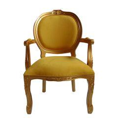 poltrona-estofada-madeira-amarela-com-braco-captone-decoracao-mesa-jantar-medalhao-03