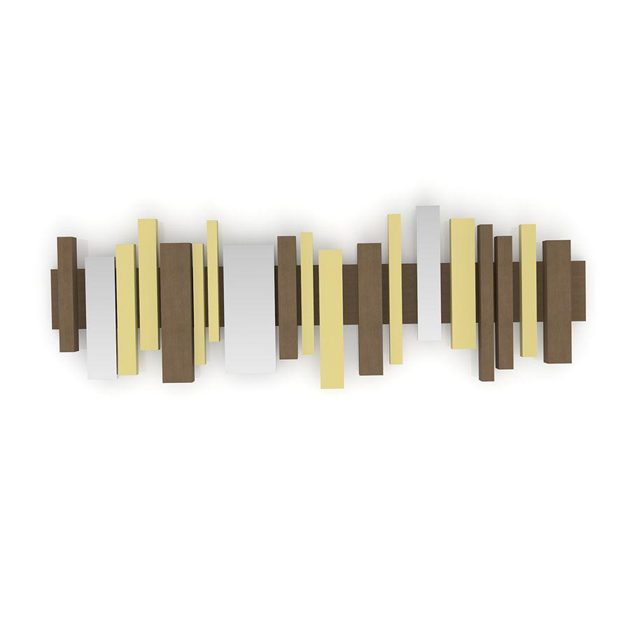 quadro-listelli-amarelo-marrom-decoracao-sala-de-estar-jantar-quarto-parede-madeira-ra4043mo