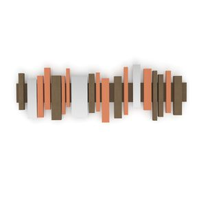 quadro-listelli-laranja-marrom-decoracao-sala-de-estar-jantar-quarto-parede-madeira-ra4043t