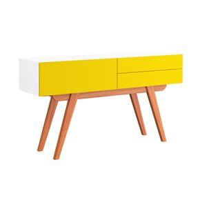 aparador-equilibrio-amarelo-branco--retro-2-gavetas-pes-sala-de-estar-madeira-decoracao-01