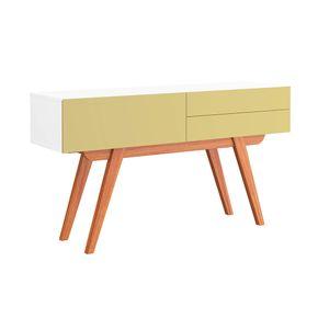 aparador-equilibrio-bege-branco-retro-2-gavetas-pes-sala-de-estar-madeira-decoracao-01