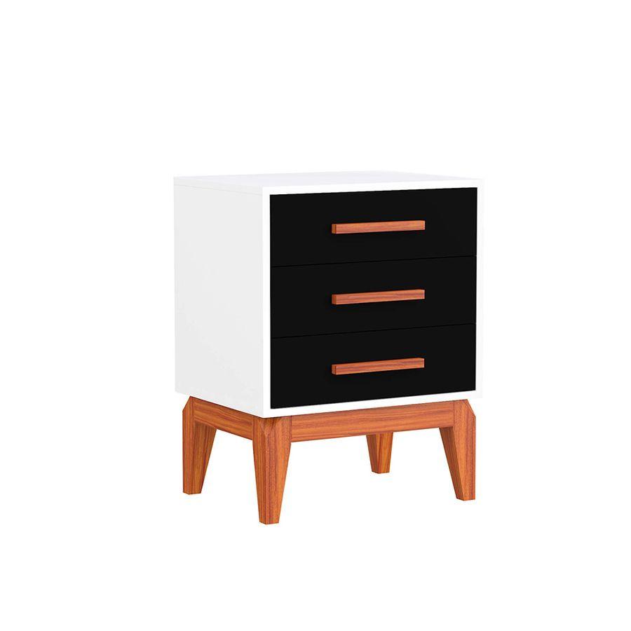 Criado-mudo-3-gavetas-preto-branco-2-gavetas-nicho-retro-pes-quarto-madeira-decoracao-