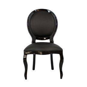 cadeira-medalhao-preta-sem-braco-estofada-entalhada-madeira-decoracao-sala-de-estar-jantar-04