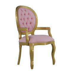 cadeira-de-jantar-medalhao-com-braco-encosto-captone-dourado-rosa-quarto-infantil-provencal-classico-01