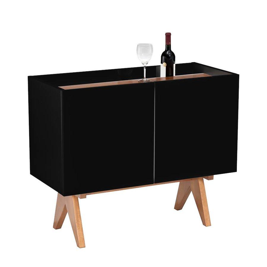 adega-vinho-paes-preto-duas-portas-decoracao-base-madeira-1