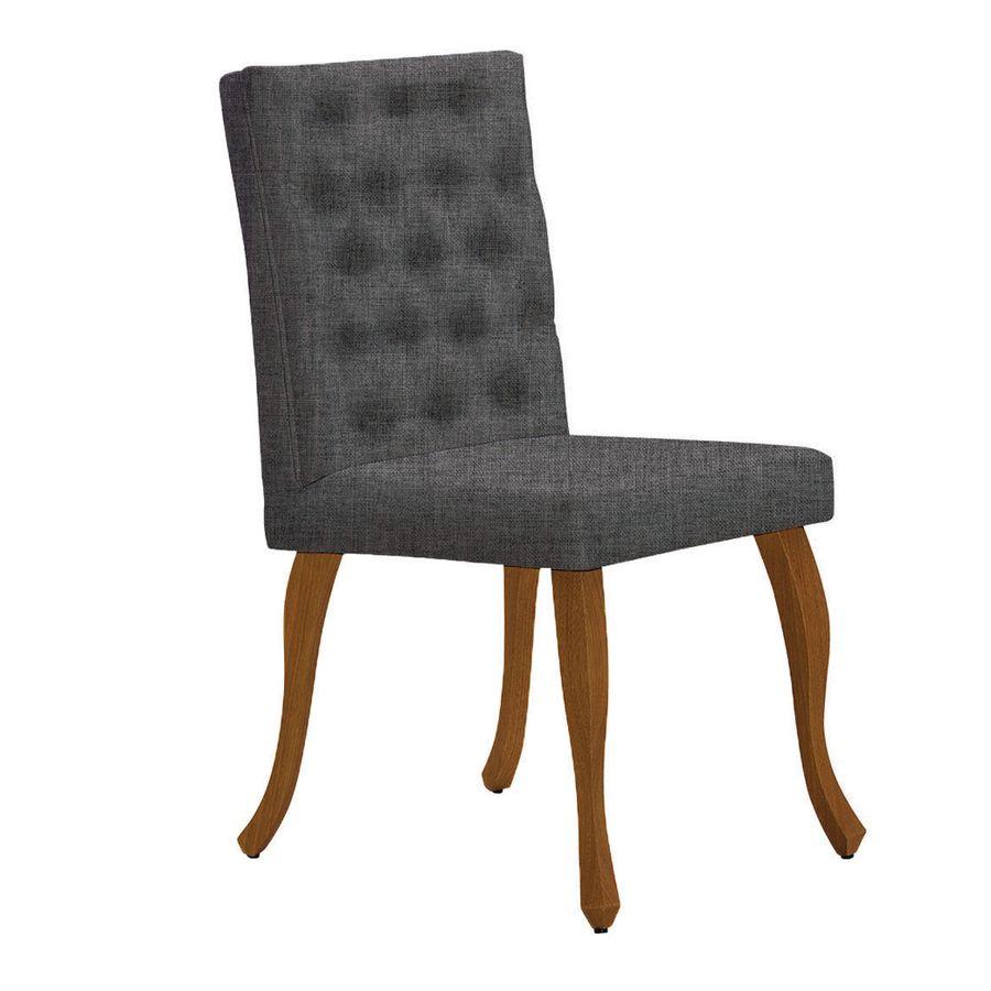 8108-1071-cadeira-estofada-linho-cinza-com-capitone-sala-jantar-pes-ingles-luis-xv-elegante-luxo