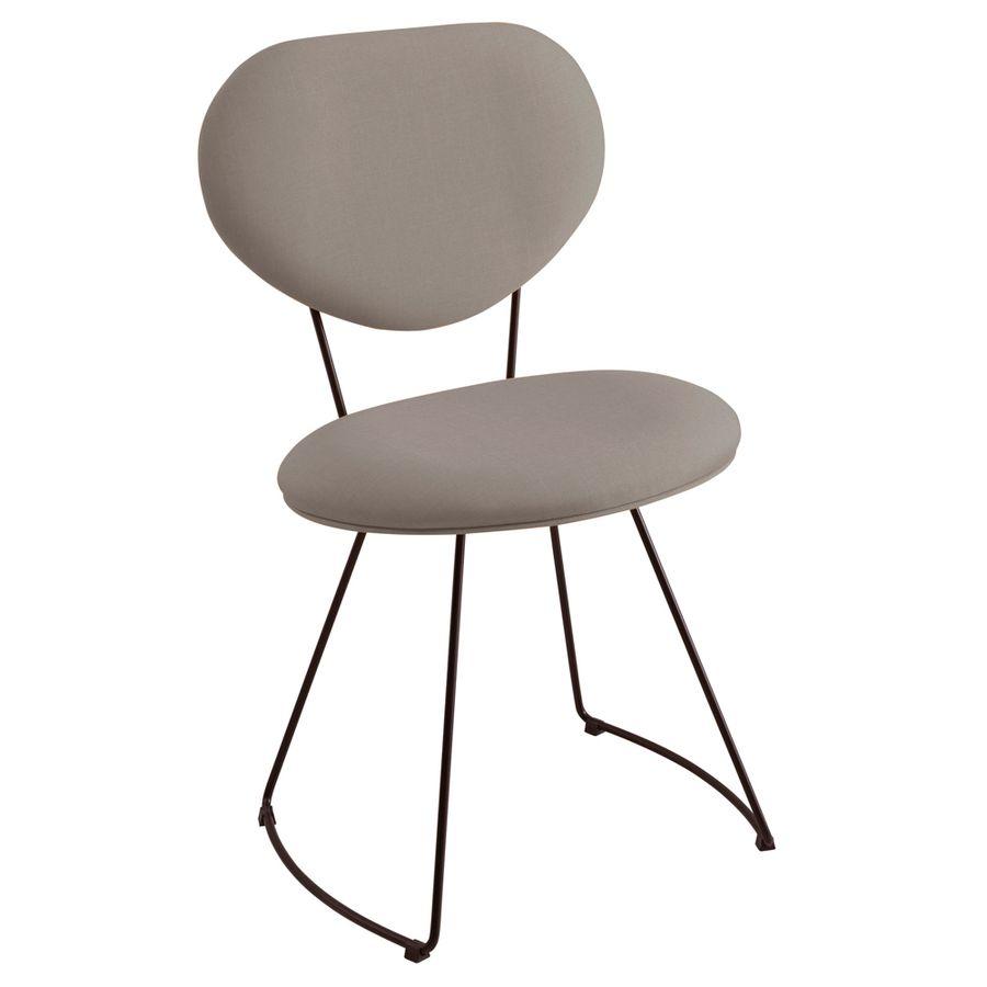 F42-1071-cadeira-de-jantar-estofada-base-metal-retro-minimalista-moderna-cinza-anos-50