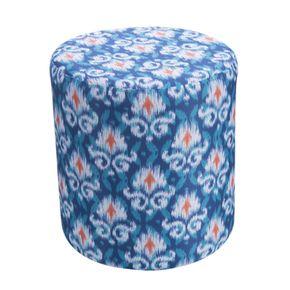 9070--C17-puff-redondo-rolha-decorativo-grande-azul-laranja-estampado-etnico
