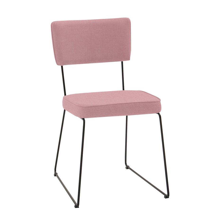 F53-1077-cadeira-de-jantar-estofada-base-metal-retro-rose-anos-50