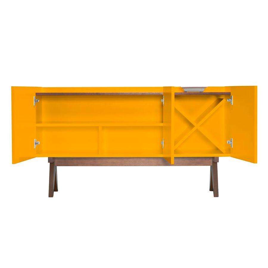 buffet-paes-amarelo-base-madeira-tres-portas-com-adega-sala-decoracao-2