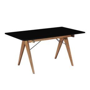 mesa-jantar-paes-160-amarela-pes-madeira-com-ferro