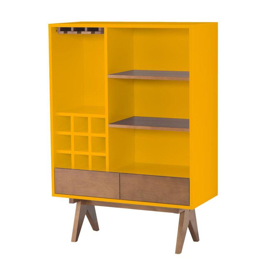 mini-cristaleira-paes-amarela-com-adega-prateleira-2-gavetas-pes-madeira