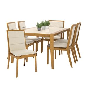 Davies--conjunto-6-cadeirasestofada-decoracao-contemporanea-mesa-tampo-branco-base-madeira-1