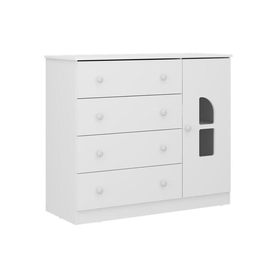 2657.156-comoda-branca-4-gavetas-1-porta-quarto-infantil-decoracao-1