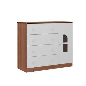 2657.936-comoda-branca-madeira-4-gavetas-1-porta-quarto-infantil-decoracao-1