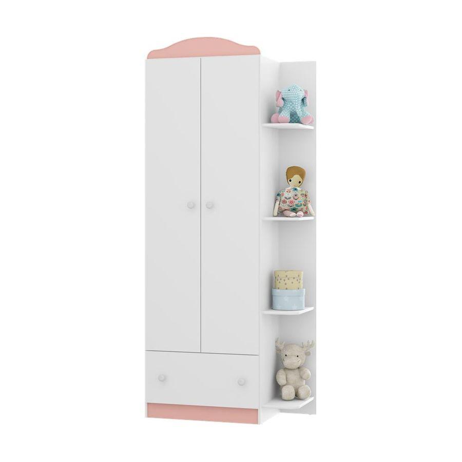 2660.951-quarda-roupa-branco-rosa-bebe-2-portas-com-gaveta-4-nichos-quarto-infantil-decoracao