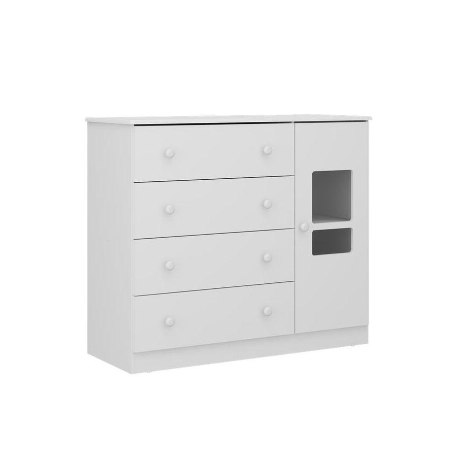 2674.156-comoda-branca-4-gavetas-com-porta-quarto-infantil-decoracao-1