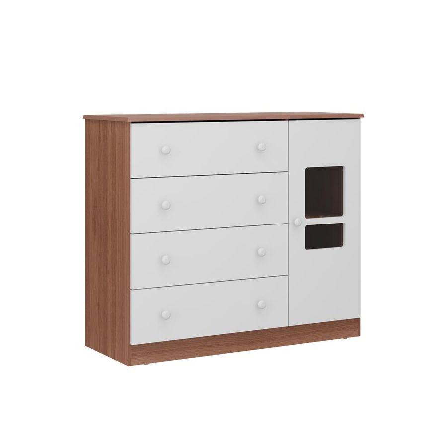 2674.936-comoda-branca-madeira-4-gavetas-com-porta-quarto-infantil-decoracao-1