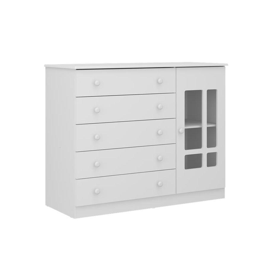 2652.156-comoda-branca-5-gavetas-1-porta-quarto-infantil-decoracao-1