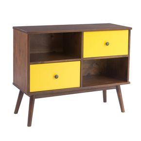 5607-rack-lateral-madeira-macica-retro-com-2-gavetas-2-nichos-pinhao-amarelo-pes-palito