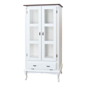 773-armario-duas-portas-de-vidro-madeira-decorativo-moderno-pes-torneados