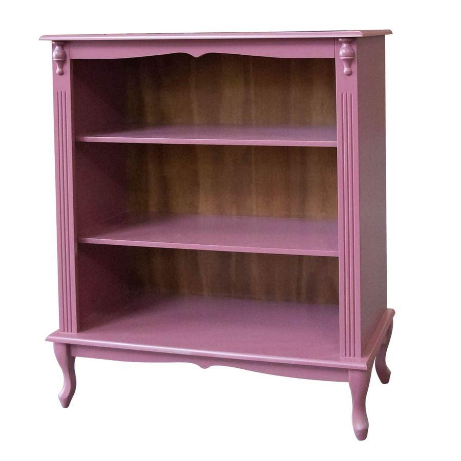 783-Estante-Baixa-madeira-macica-decorativa-aparador-Pes-Luiz-xv-rosa-cha