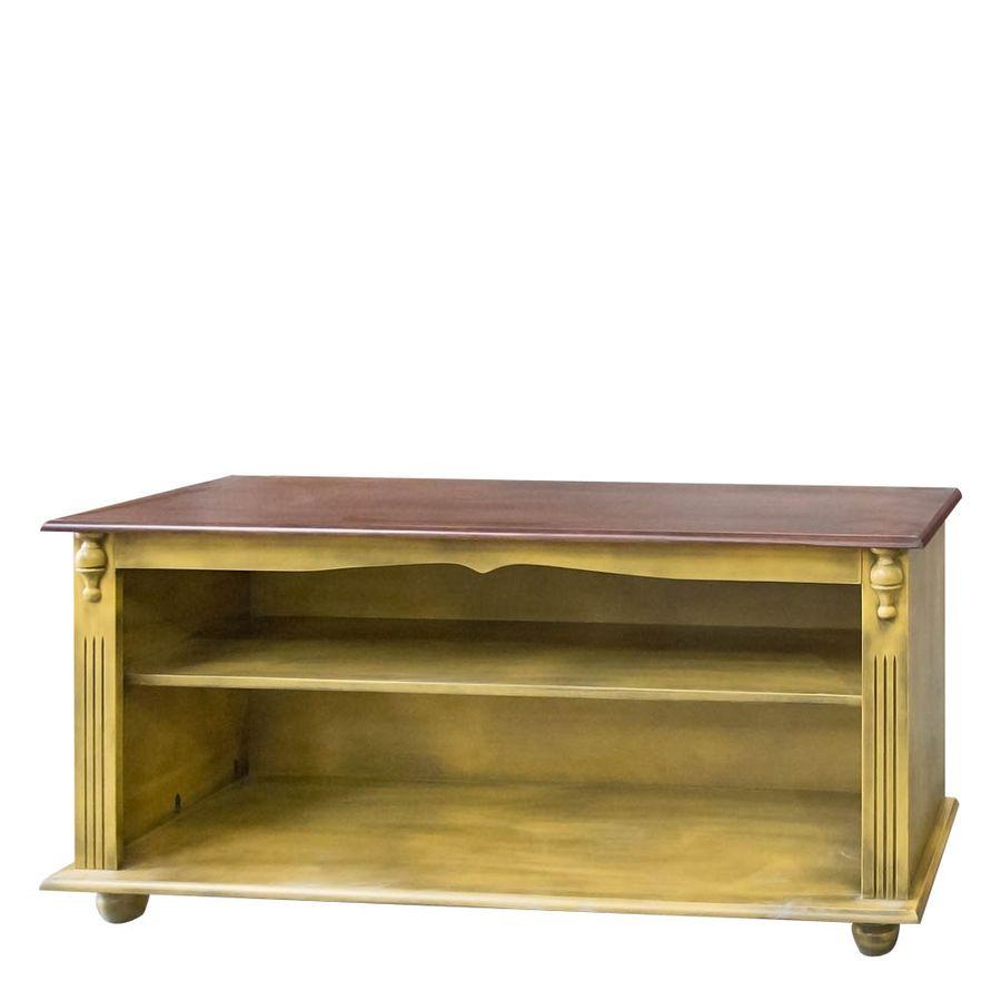 784-Rack-Pequeno-pes-bola-para-apartamento-sala-madeira-macica-entalhada-amarela