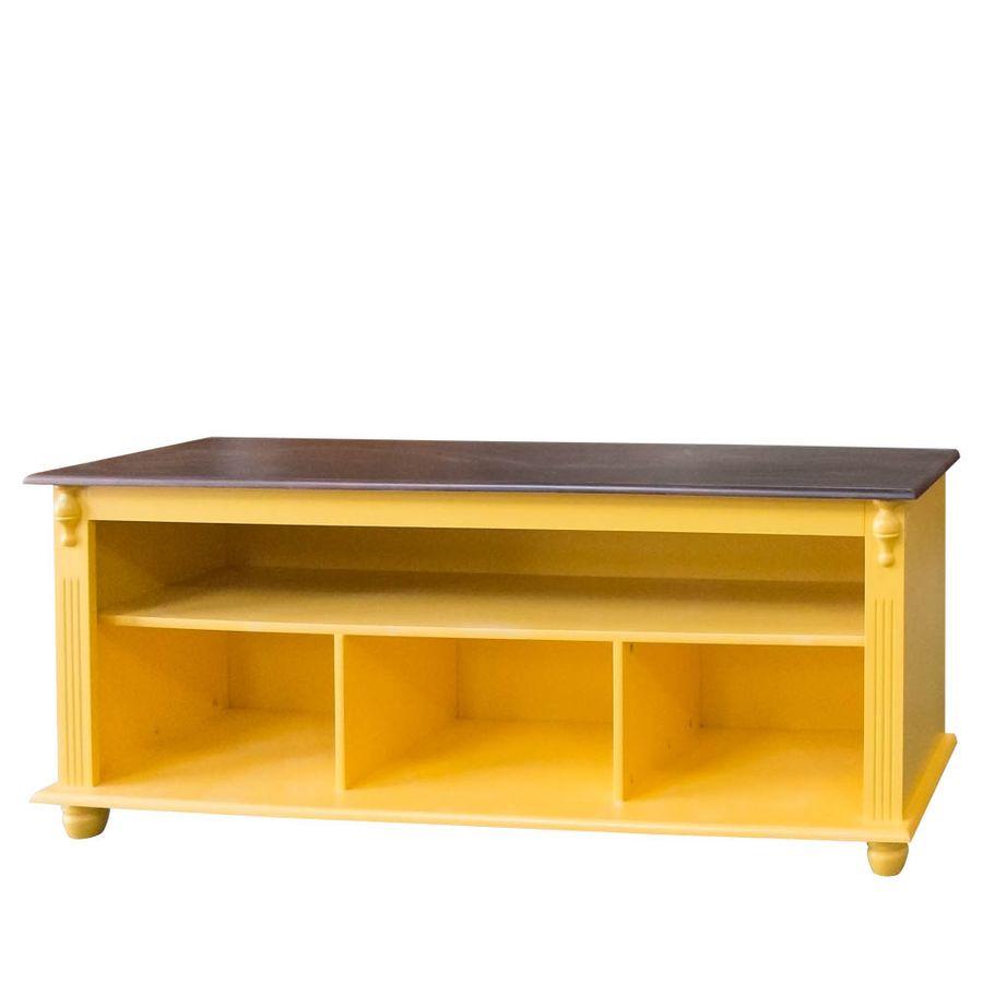 786-Rack-Pequeno-pes-bola-para-apartamento-sala-madeira-macica-entalhada-amarela-tampo-madeira-marrom