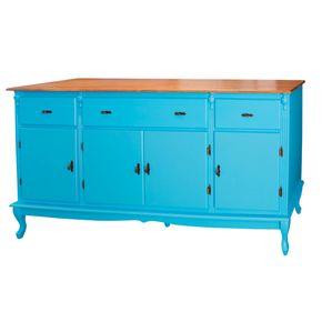 804-Balcao-4-Portas-e-3-Gavetas-cozinha-antigo-colonial-grande-1920-cm-200-cm-madeira-macica-azul