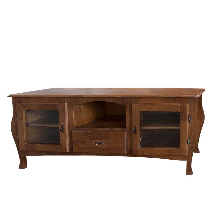 809-Rack-Ingles-1-gaveta-2-portas-vidro-madeira-macica-imbuia-classica-rustica-colonial