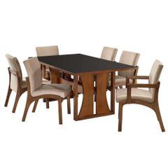kit-de-jantar-mesa-paris-6-cadeiras-classic-com-braco-e-sem-braco-decorativa