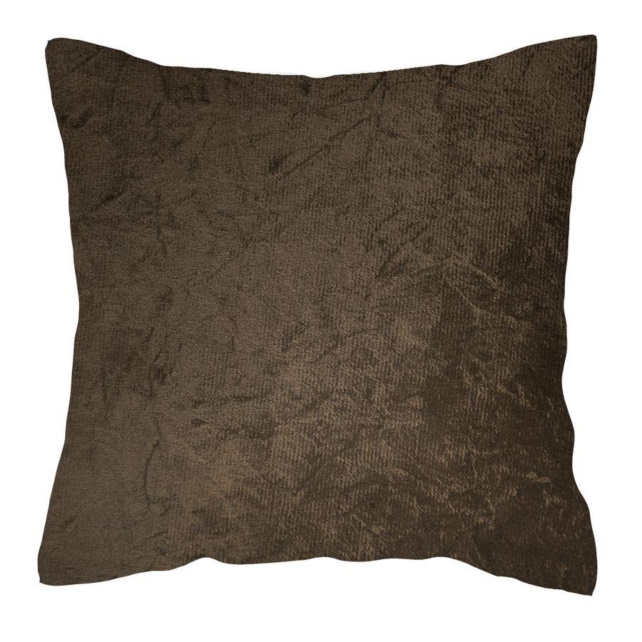 Veludo-Amassado-Bison--almofada-para-sofa-decorativa-almofada-marrom