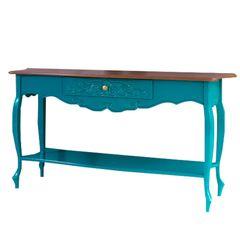aparador-azul-com-gaveta-azul-retro-decorativo