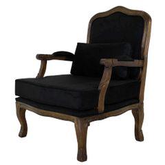 poltrona-king-preta-estampado-com-almofada-encosto-entalhado-madeira-macica-3