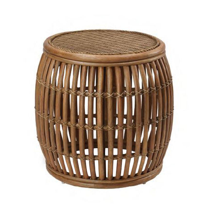 mesa-lateral-bumbo-redondo-madeira-com-fibra-sintetica-decoracao-casa-area-externa-piscina-2