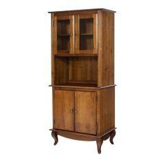 5228-armario-para-microondas-forno-eletrico-cozinha-modulada-madeira-macica-2-portas-vidro-pes-luis-xv-country